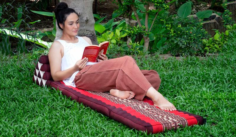 Yoga and meditation mats and cushions