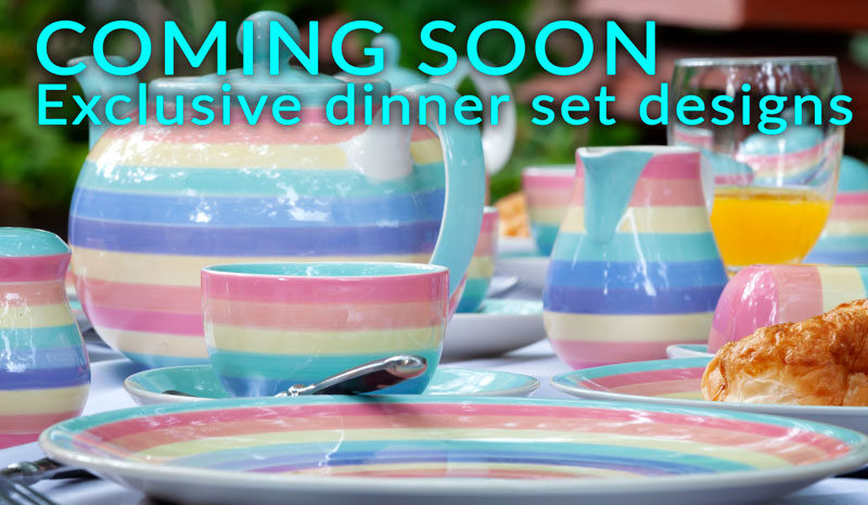 Ceramic sets, custom exclusive designs