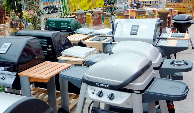 Barbecues at waterways garden center