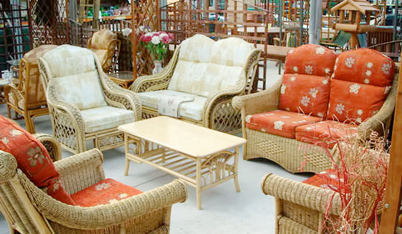 Furniture from Waterways Garden Center