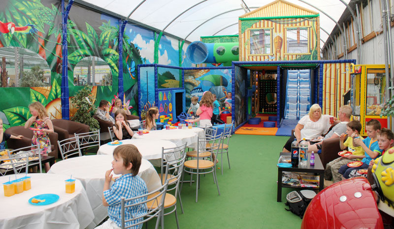Indoor children play area at waterways Garden Center