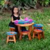 children's wooden stool