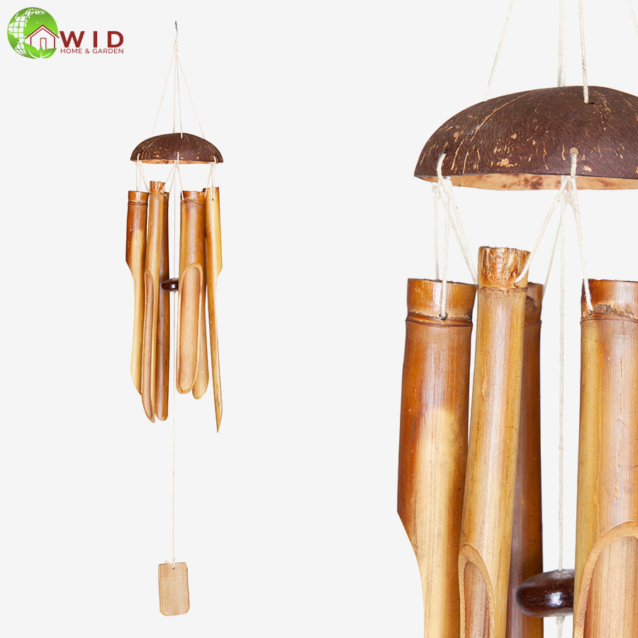 large bamboo wind chimes