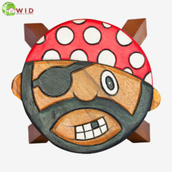 children's wooden stool Pirate uk