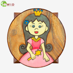 children's wooden stool Princess uk