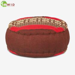 zafu jar meditation cushion red UK