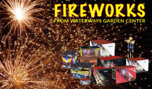 Waterways garden centre fireworks