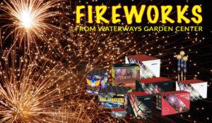 Waterways garden centre fireworks