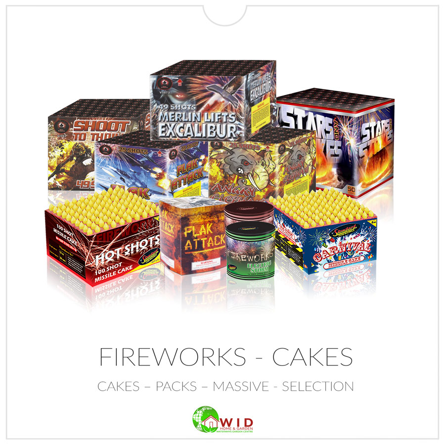 Fireworks Cakes