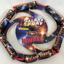 Galaxy Spray spinning wheel
