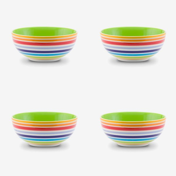 Rainbow Bowl 15 cms x Pack 4