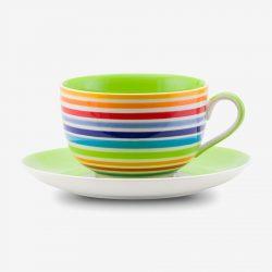 Rainbow Large cup saucer