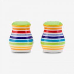 Rainbow salt and pepper sets