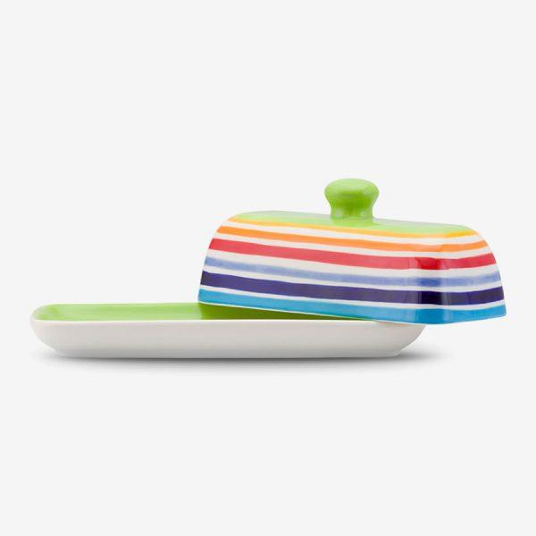 Rainbow Butter Dish