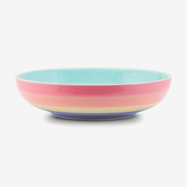 Rainbow large Bowl Pastel