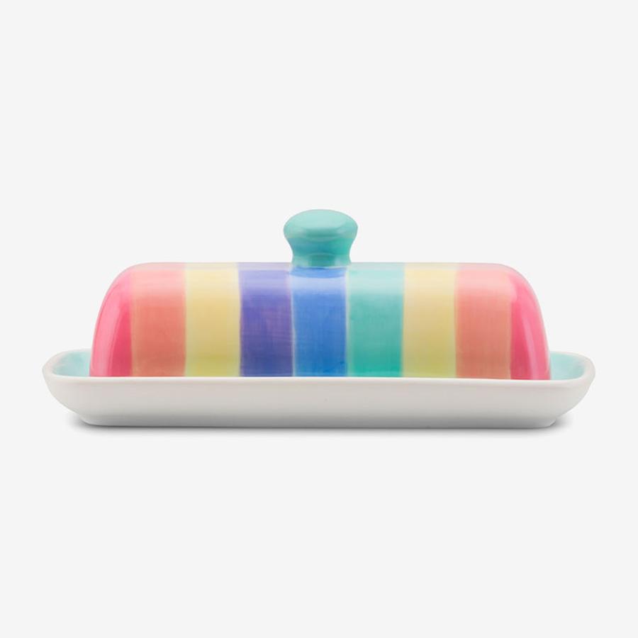 Rainbow Butter Dish Pastel