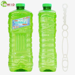1.8ltr bubble solution bottle with wand
