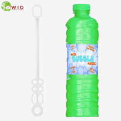 1 ltr bubble solution bottle with wand