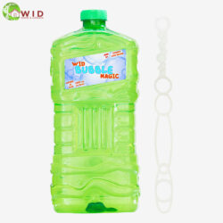 3 ltr bubble solution bottle with wand