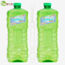 2pack 1.8ltr bubble solution bottle with wand