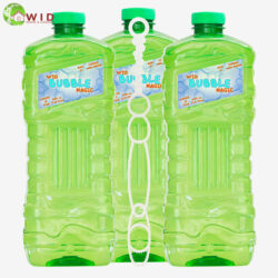 3 x 1.8 litre bubble solution with wand