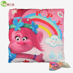 Trolls 40cms Cushion pink