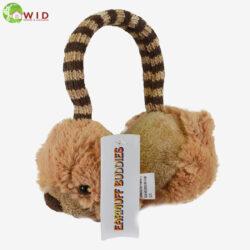 BROWN BEAR KIDS EAR MUFFS