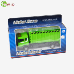 green construction truck