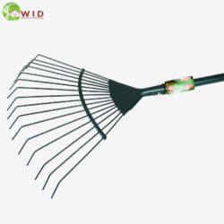 Leaf rake for the garden. UK