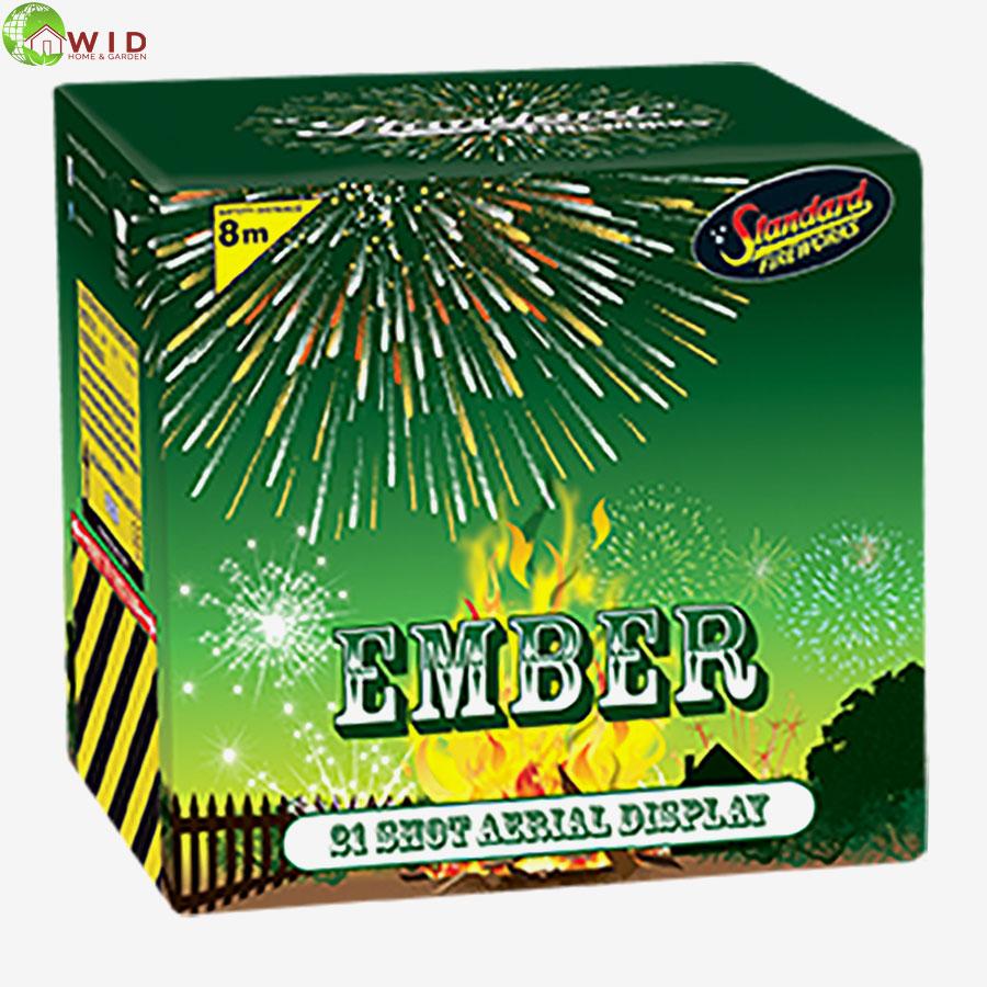 fireworks multi shot 21 shots Ember uk