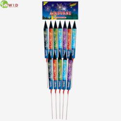 Fireworks Airbourne rocket pack x12 UK