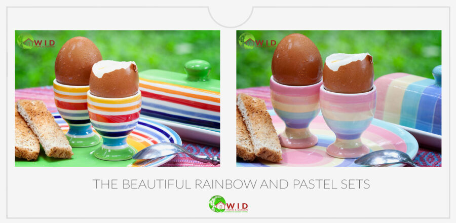 Egg cups, exclusive designs. uk
