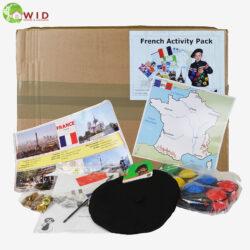 Children's French activity Packs