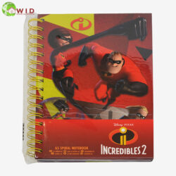 Incredible's note books, UK