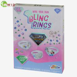 MAKE YOUR OWN BLING RINGS