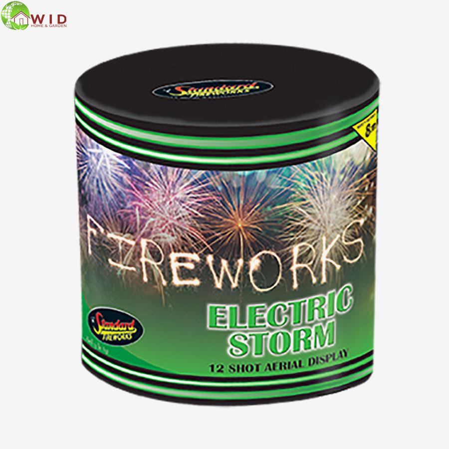 fireworks multi shot 12 shots electric storm uk
