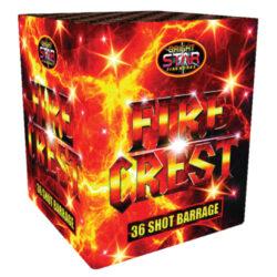 Fire Crest Firework Multi Shot 36 Shots