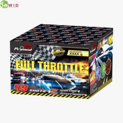 fireworks multi shot 49 shots full throttle uk
