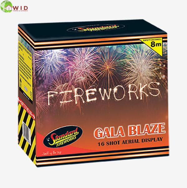 fireworks multi shot 16 shots Gala blaze uk