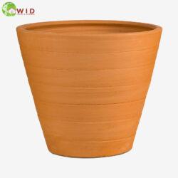 terracota garden pots. UK