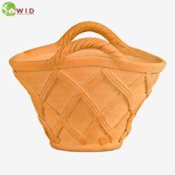 Garden basket pot from waterways garden centre. UK