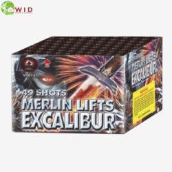 fireworks multi shot 49 shots merlin lifts excalibur uk
