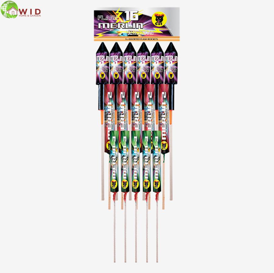firework, Merlin rocket pack x 16 UK