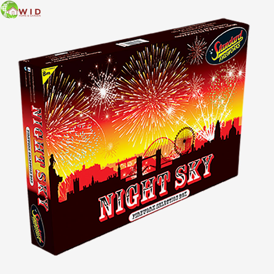 fireworks selection box night sky uk