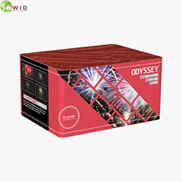 fireworks multi shot 73 shots Odyssey uk