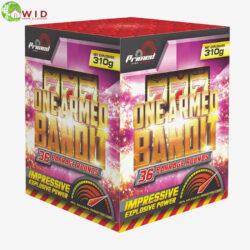 fireworks multi shot 36 shots One Armed Bandit uk