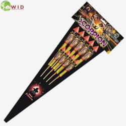 Fireworks Scorpion rocket pack x 9 uk