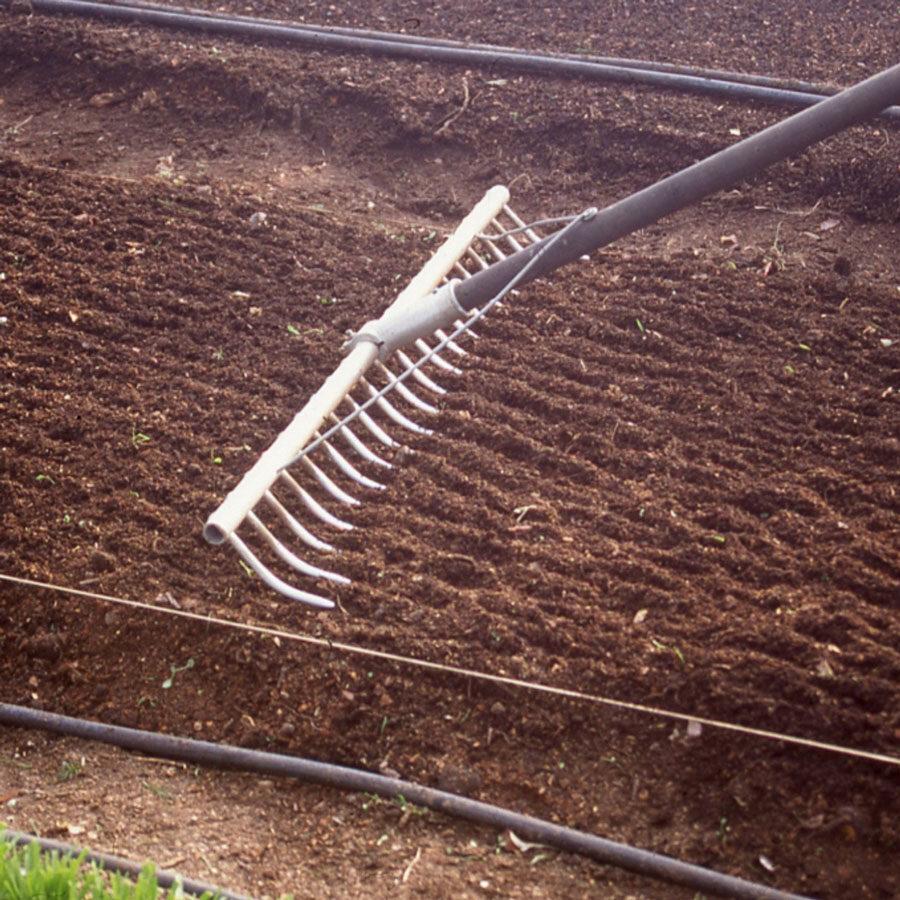 Soil turning, waterways garden centre