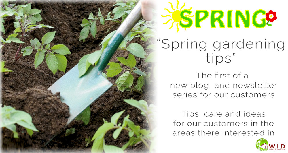 Spring garden tips blog, Garden supplies UK