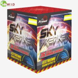 fireworks multi shot 36 shots sky breaker uk